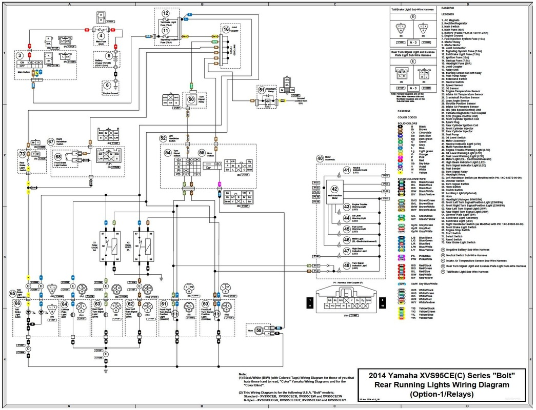 2014 yamaha bolt wiring diagram   31 wiring diagram images